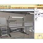 3D workspace planner online version